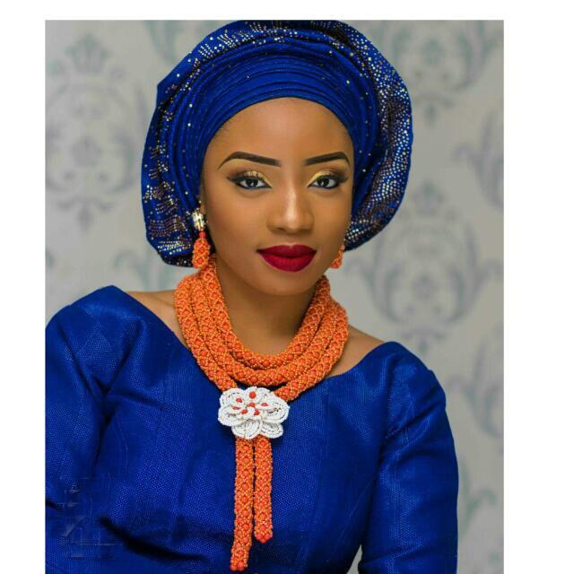 Nádherné neprůhledné oranžové svatební korálky indický africký kostým šperky sada nigerijské svatební náhrdelník pro ženy doprava zdarma WD674