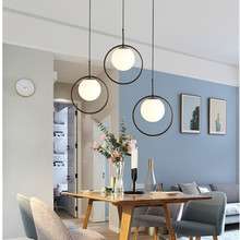 Nordic Chandelier Minimalist Art LED Chandelier Hang Glass Ball Living Room Bedroom Minimalist Restaurant Bar Home Lighting chandelier lighting restaurant minimalist living room bedroom creative american european retro chandelier iron lights chandelier