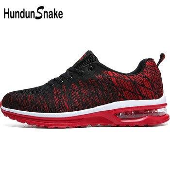 7fceb922e Hundunsnake сетчатые Красные кроссовки Мужские дышащие кроссовки теннисные  туфли женские летние туфли мужские воздушные подушки красовки