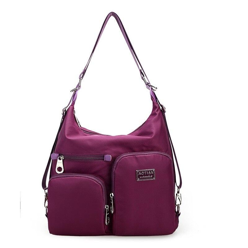 2017 New Girls Backpack Multifunctional Women s Casual Daypacks Bag For Student Teenager School Pack Nylon