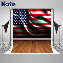 Kate 5X7FT American Flag Wood Wall Photography Backdrops newborn photogra background Grey Wood Floor Studio Backdrops Background kate red brick wall photography studio props wood floor background for studio backdrops for photography