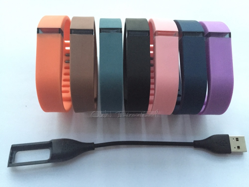 7pcs large size fitbit flex wristband/metal clasp and 1pcs fitbit flex replacement charg ...