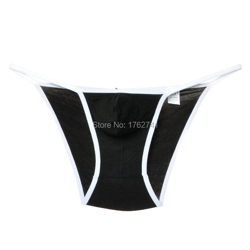 Mens Underwear Modal Pouch G-strings Rope Side Open Trunks Soft Bikini Tongs Agreeable Sweetness Back To Search Resultshome