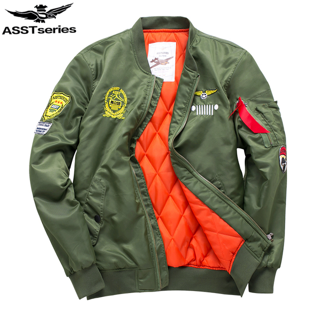 98a43b265 US $29.98 |Asstseries Bomber Jacket Men Army Military Jacket Men Mens Air  Force Jackets And Coats Oversize 6XL Tactical Jacket For Men.DA34-in  Jackets ...