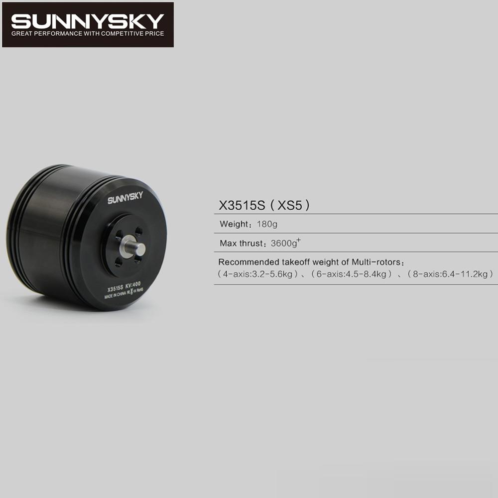 1 قطع الأصل sunnysky X3515S 400KV فعالية عالية فرش السيارات ل rc متعددة الدوار المروحية-في قطع غيار وملحقات من الألعاب والهوايات على  مجموعة 1