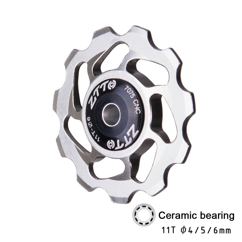 2PC//set 11T Pulley MTB Bicycle Jockey Wheel Bearing For Shimano Rear Derailleur