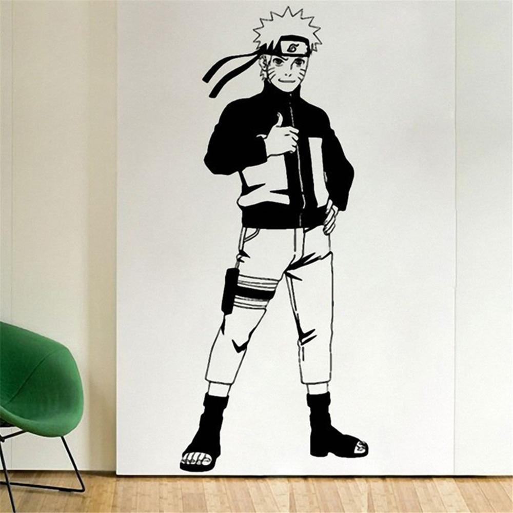 uzumaki wall decal vinyl decal comics anime