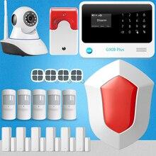 Chuangkesafe G90B Inalámbrico Más El Sistema Anti-robo de Alarma Inteligente Seguridad Para El Hogar Cámara IP 6 Sensor de Puerta