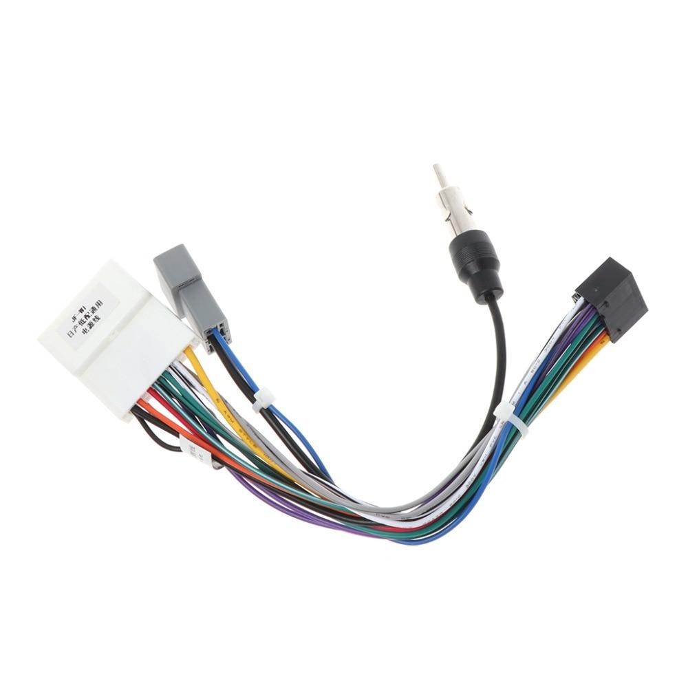 1 комплект новый 16P автомобильный Головной блок провод Жгут адаптер для Nissan OEM автомобильный радио жгут