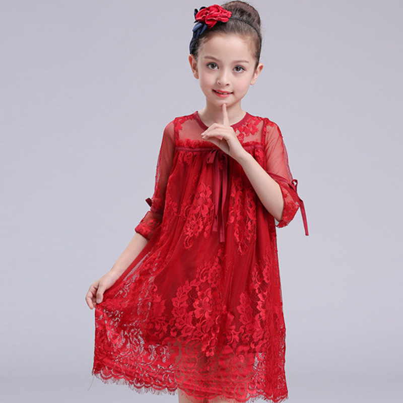 Girls dress Kids clothes Lace dresses Summer girl dress Prom dresses Girls costume for kids Vestido infantil Vestidos onepiece