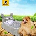 Novo 6 Opções PP Algodão Cama Do Cão Cão de Estimação Em Forma Animal Dos Desenhos Animados sofá de Casa de Cachorro Canil da Maca Do Gato Flanela Esteiras Cão S M Dois modelos