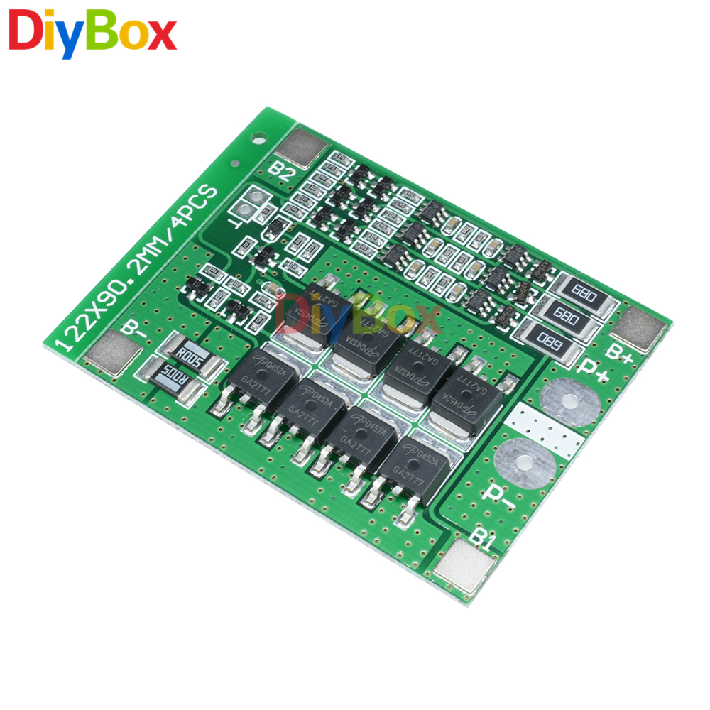 3s 25a Li Ion 18650 Battery Short Circuit Protection Board Bms Pcm With Balance For Lipo Cell Pack Module In Voltage