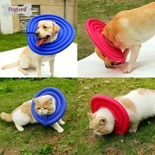 DogLemi Pet Dog Cat Protective Recovery E-Collar Pet Charming Collar 2 Colors Available