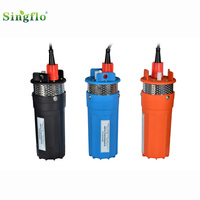 submersible solar water pump for well SINGFLO 24v 6L/MIN 30 Meters Lift similar with shurflo 9300