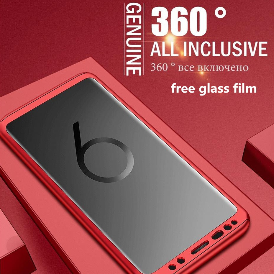 360 Full Protection Iphone Cover With Screen Film