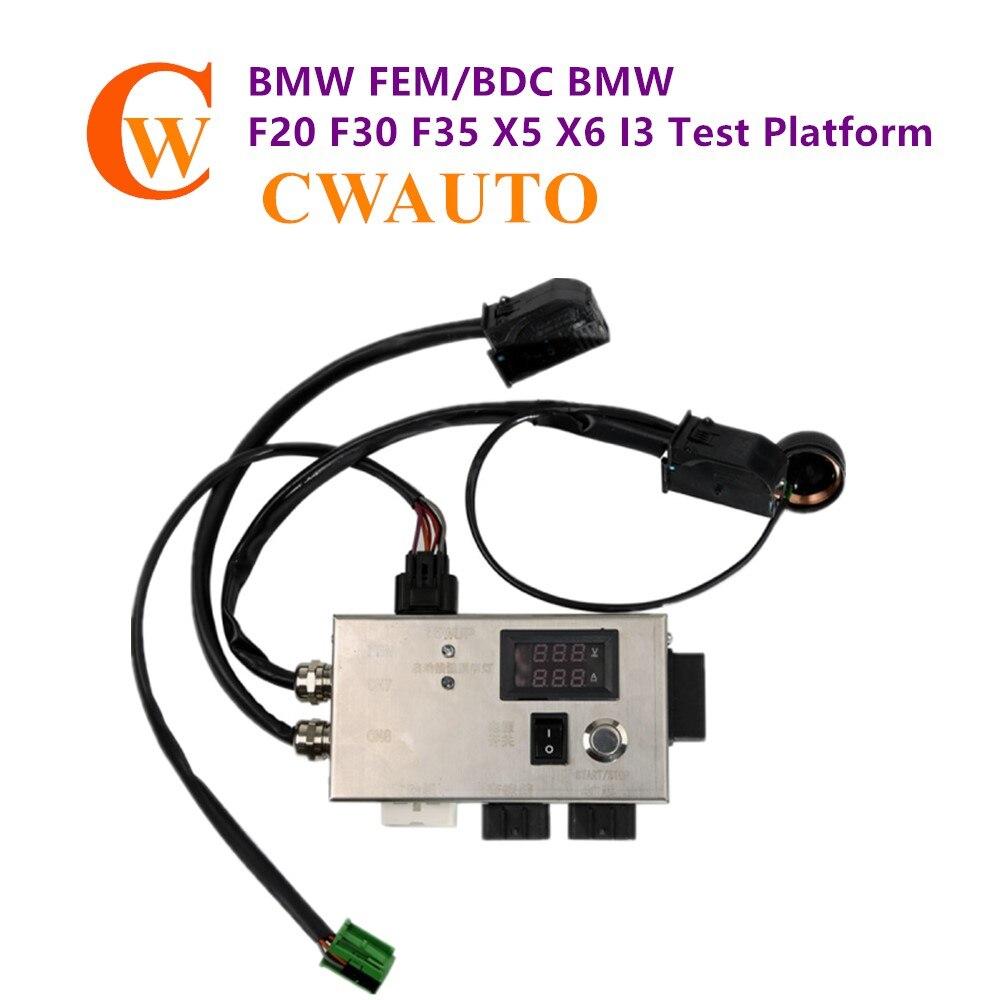 Plate-forme d'essai FEM/BDC F20 F30 F35 X5 X6 I3 avec fiche de boîte de vitesses