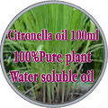100% pure plant water soluble essential oils citronella oil Aromatherapy bath dedicated Remove acne Insect Soothing