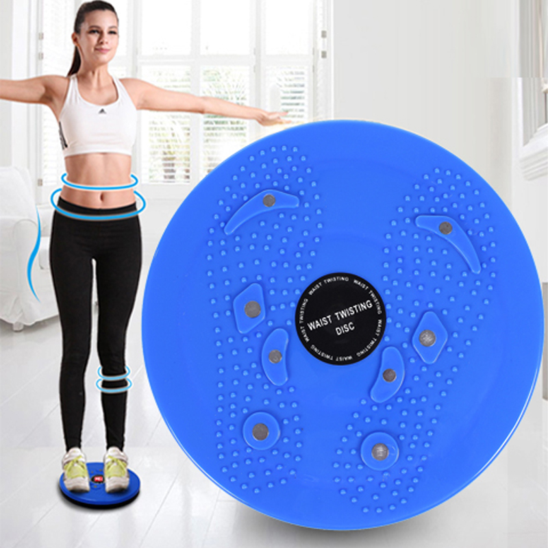 Waist Twisting Disc Magnetic Plate Sports Fitness Board Weight Loss Leg Exercise Stretching Body Shaping Training BB55
