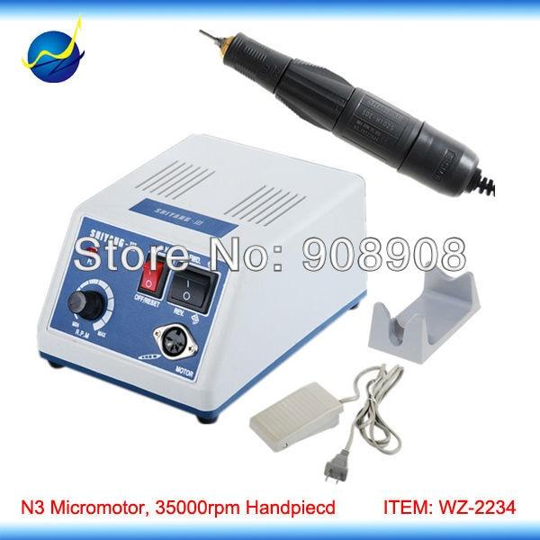 35000 RPM Hand Grinder Micro-motor polishing Polisher + SDE-H102S Brush Handpiece 100-120V/200-240V manas das v k jain and p s ghoshdastidar nanofinishing process using magnetorheological polishing medium