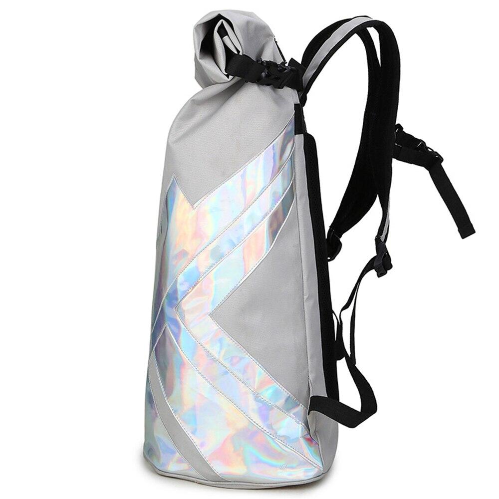 Backpack Laser Knight Backpack Men's Travel Backpack Student Bag Large Capacity Roll Cover Large Drum Bag тканевый пенал large capacity bag