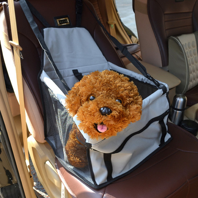 1Piece Oldable Pet Dog Cat Car Crate Lookout Booster Seat Bag Carrier Travel Bed
