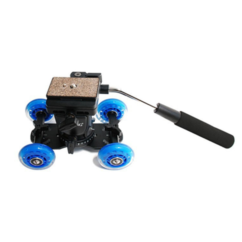 Dolly car + tripod head YT-950 (2)