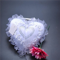2015 Hot Sell 20 20cm Wedding Lace Square Ring Pillow Detalles Boda Wedding Decoration Wedding Supplies