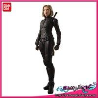 Красивый ангел натуральная Bandai Tamashii Наций S.H. Figuarts Мстители: Бесконечность War Iron Black Widow Action Figure