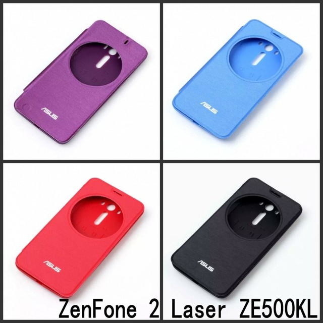 online store 18279 aa131 US $3.98 |High Quality Original Flip Cover case for ASUS ZenFone 2 Laser  ZE500KL 5 inch with View window Phone cover on Aliexpress.com | Alibaba  Group