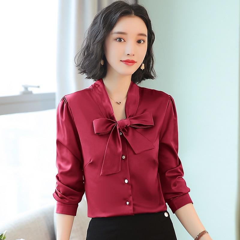 women's blouse shirt women blusas womens tops and blouses fashion woman blouses 2019 long sleeve blusas ladies tops Plus size 6