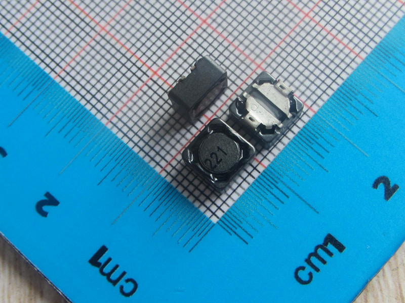 Free Shipping 50pcs SMD Shielded Inductors Power Inductors 7*7*4MM 220uH Power Inductor 221 CDRH74R