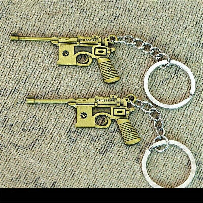 Keychains bullet gun model (26)