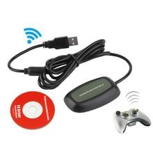 Для Xbox 360 контроллер ПК беспроводной игровой приемник игровой USB ресивер Адаптер для microsoft для Xbox360 беспроводной контроллер