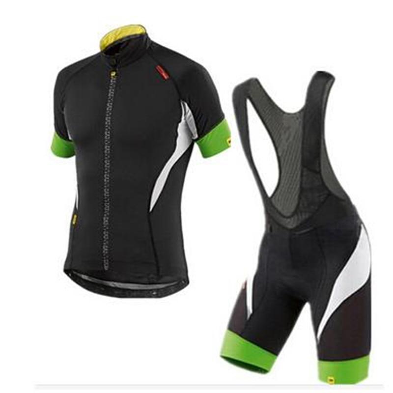 2018 font b mavic b font summer Cycling Clothing kit Racing Bike Cycling Jersey Ropa Ciclismo