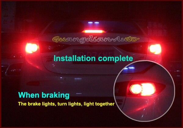Guangdian автомобиля стоп сигнальные лампы сзади стоп-сигнал поворота света предотвращения столкновений для Toyota Camry 7440 T20 WY21W