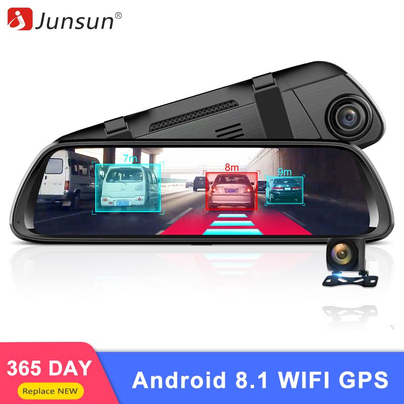 "Junsun A960 4G Android 8.1 ADAS 9.88""display Car DVR Camera  Rear View Mirror Rear 1080P WiFi GPS Dash Cam Registrar Video Recor(China)"