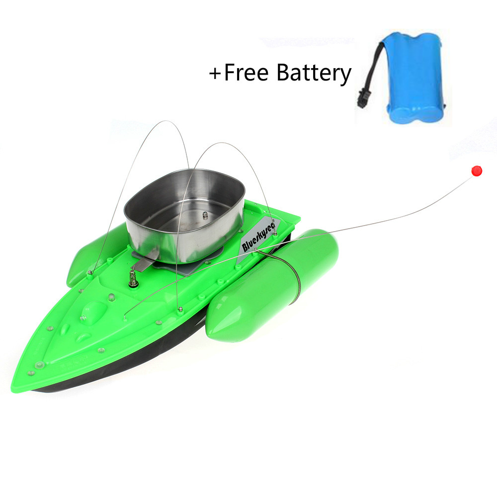 Blueskysea Upgrade T10 RC Fishing Bait Boat Lure Anti Grass Wind Remote Control+6400mAh Battery Fish Finder Outdoor Sports