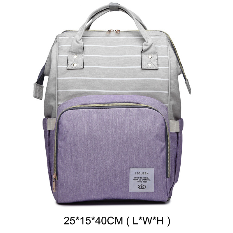 purple x striped