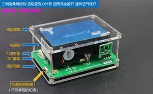 Image 4 - M5 PM2.5 חלקיקים PM1.0 PM10 אובך אבק PM2.5 ניטור איכות אוויר חיישן לייזר עם טמפרטורה ולחות TFT LCD