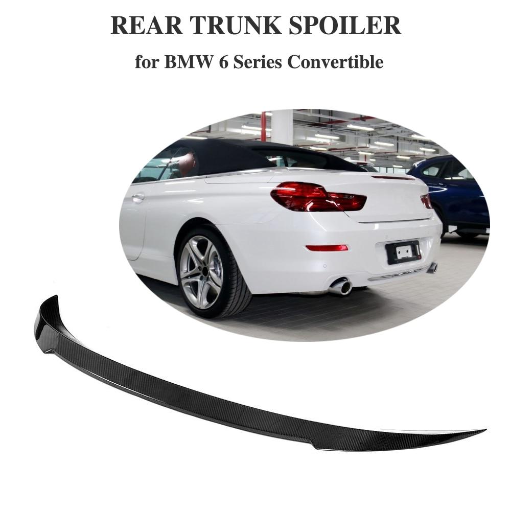 Aliexpress.com : Buy Carbon Fiber Rear Spoiler Trunk Boot