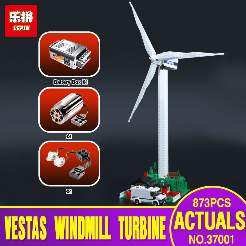 Lepin 37001 Creative Series The Vestas Windmill Turbine Set Children Educationl Building Blocks Bricks Toys Model legoing 4999 lepin 37001 creative series the vestas windmill turbine set children educational building blocks bricks toys model for gift 4999