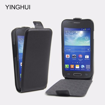 c1e9012f84a Funda de cuero para Samsung Galaxy ACE 4 Neo G318H SM-G318H Duos Ace4 Lite  G313 G313H tendencia 2 caso Fundas