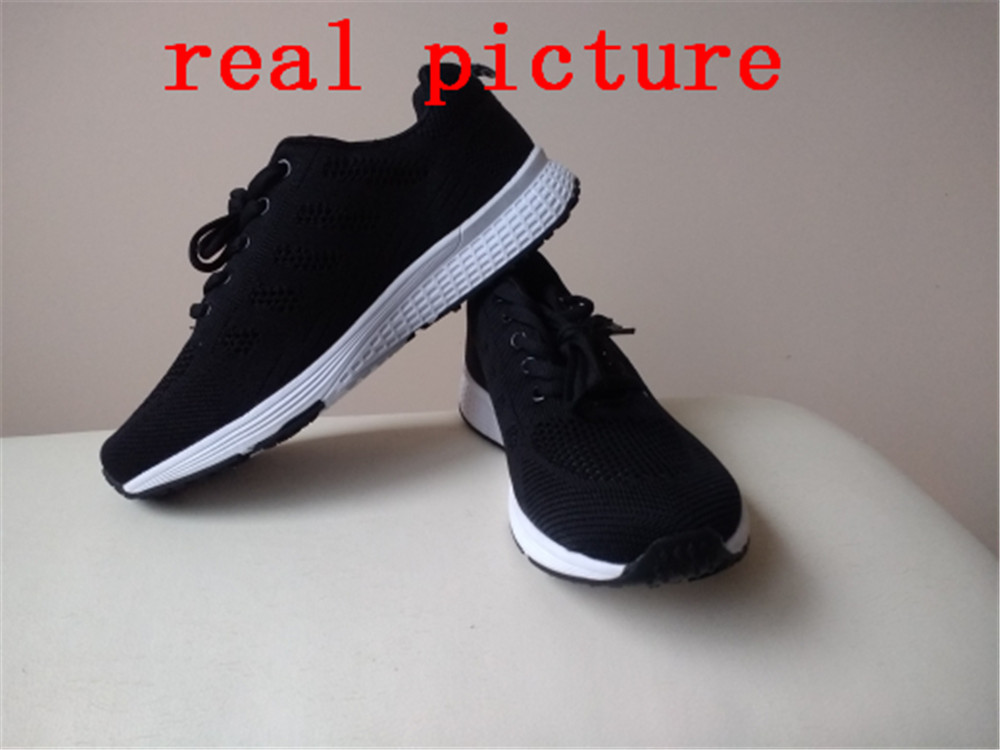Sports & Entertainment Humble Onke Breathable Mesh Sneakers Men Damping Running Man Sports Slip On Gym Male Shoe Gray Jogging Walking Comfortable Zapatillas