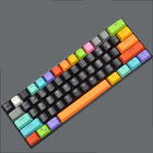 Colorful PBT 14 Big Key Backlight Keycaps for Mechanical Keyboards (for Cherry Switches)