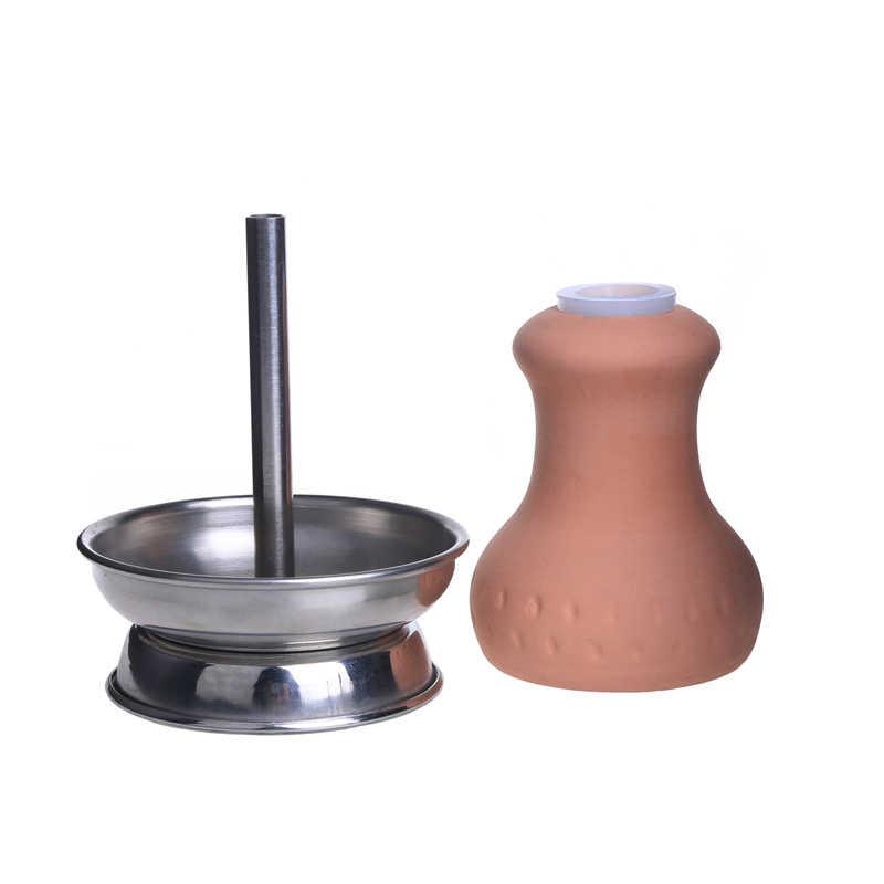 Pokoje dla niepalących Dogo wysokiej jakości szisza głowy z misa do sziszy gliny szisza miska, z uszczelką