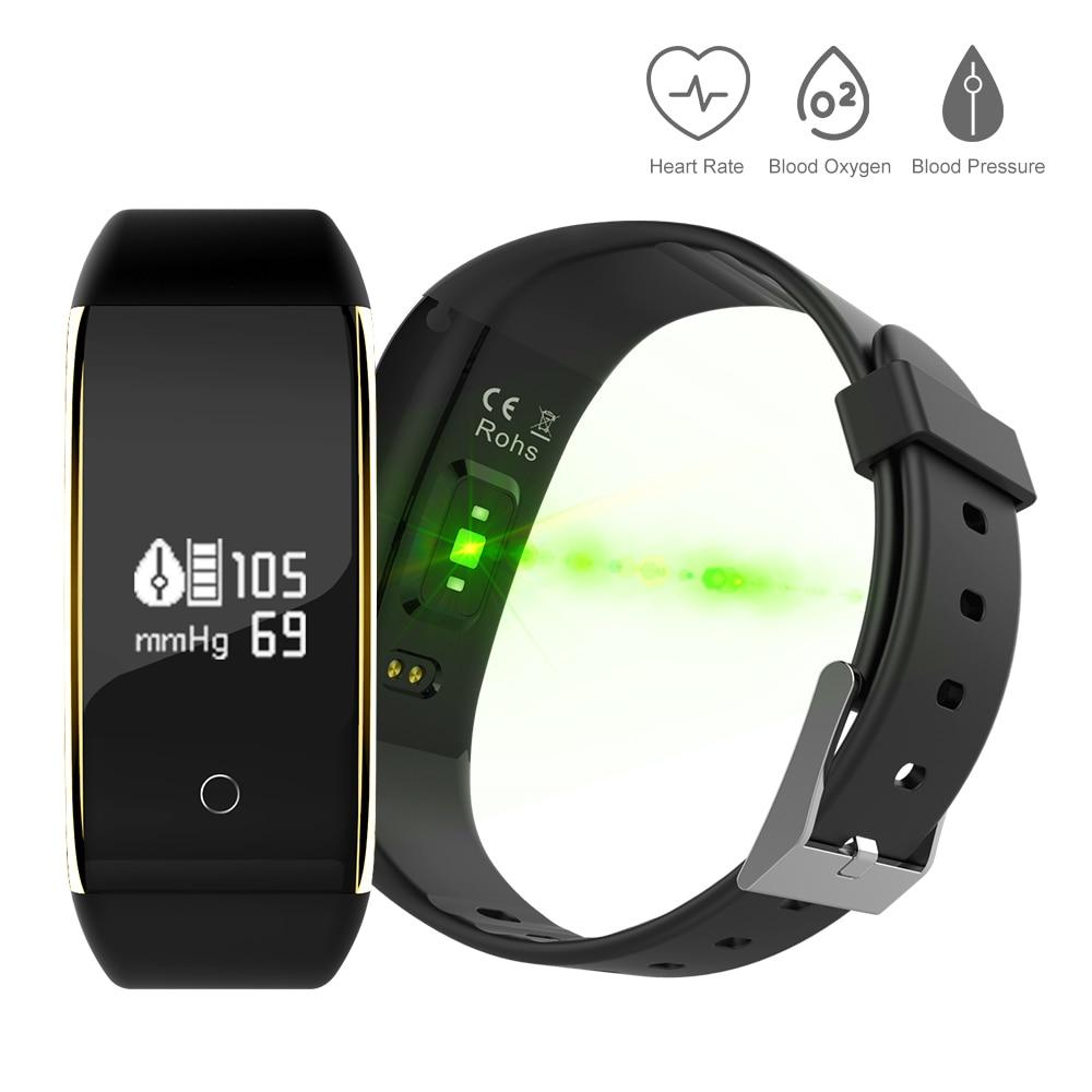 Ip67 Waterproof Pedometer V9 Smart Blood Pressure Monitor