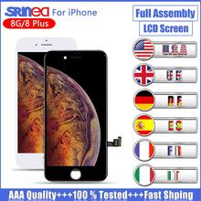 AAA+++ LCD For iPhone 8 Plus 8G LCD Display 3D Touch Screen Full Set Digitizer Assembly Replacement Screen Apple i Phone 8 8plus 8 inch for lenovo yoga 8 b6000 lcd display screen with touch screen digitizer assembly full sets