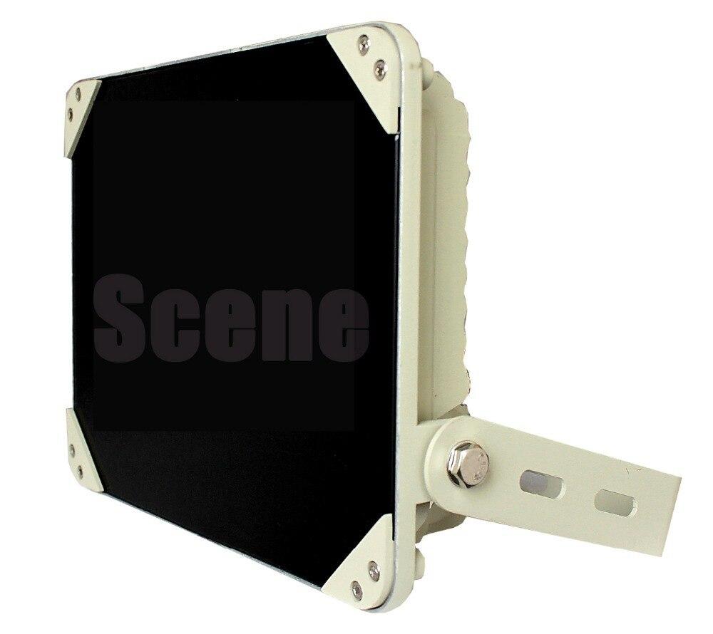 850nm 740nm 940nm 60 w illuminateur IR, Lampe Infrarouge, la lumière infrarouge invisible d'un matériau en Aluminium et nuit sources de lumière de la vision