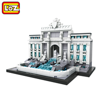Ormino LOZ Diamond Building Blocks The World Famous Building Model Guggenheim Museum Sungnyemun The White House