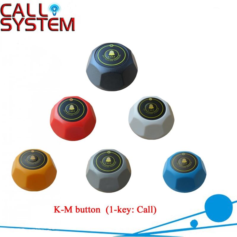 12pcs pack Wireless restaurant calling button waiter call system